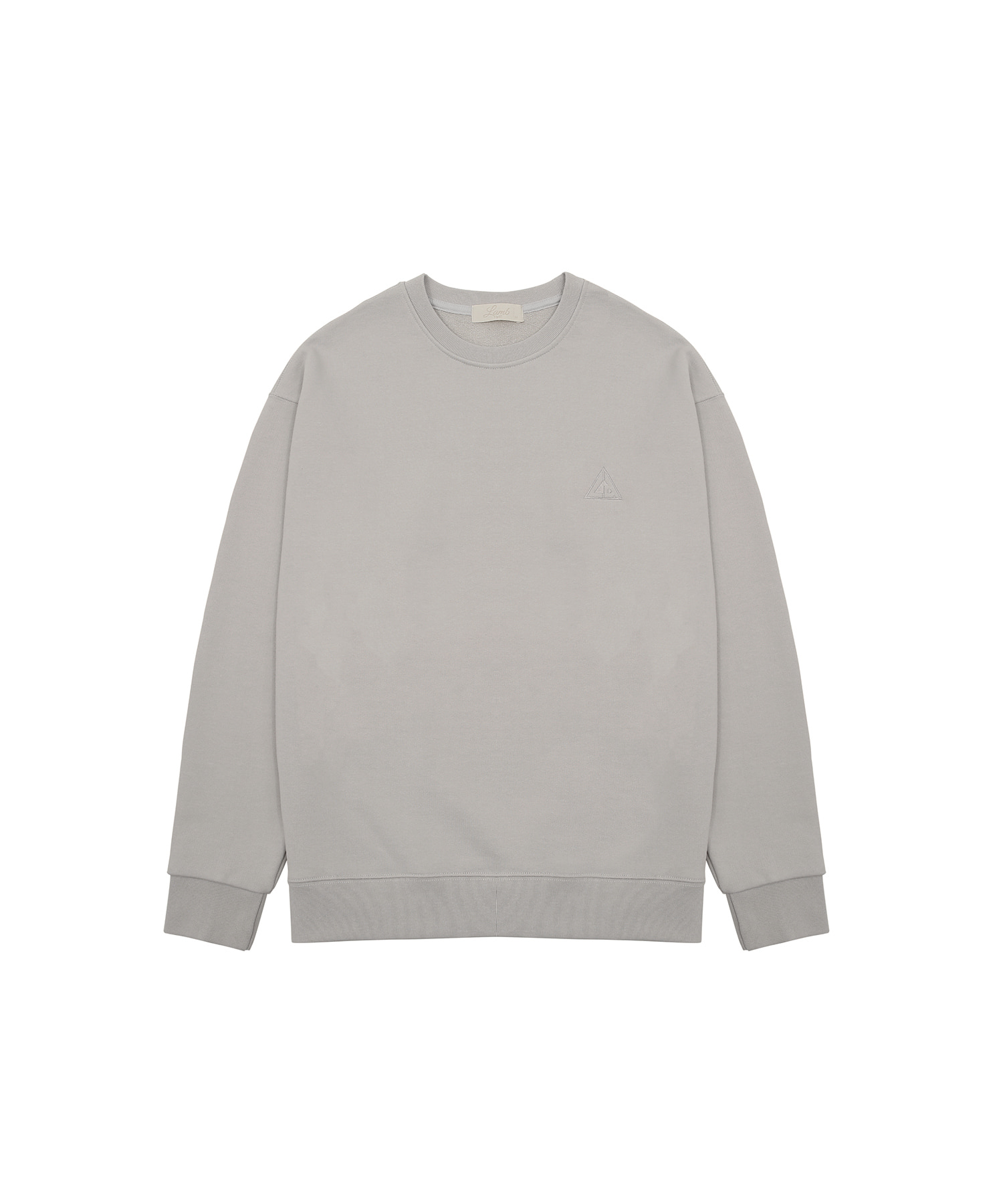 Signature sweatshirt (Concrete)